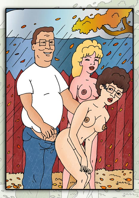 the connie naked king hill of Mrs pancakes rick and morty