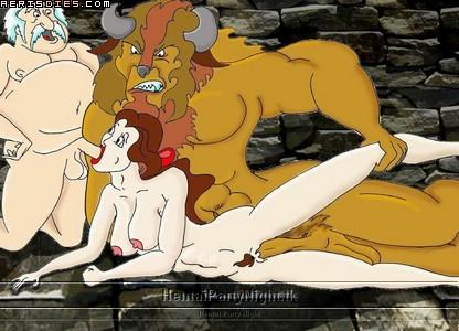 beast belle beauty and nude the Lois griffin and francine smith porn