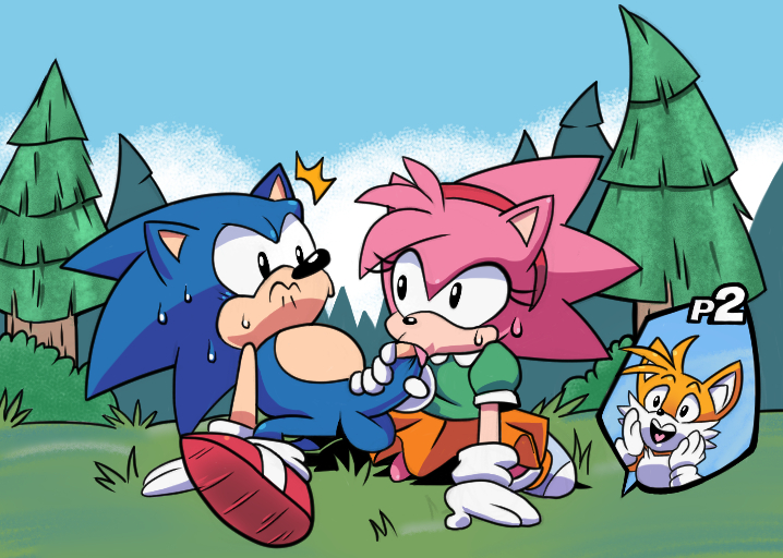 porn hedgehog the amy sonic World of gumball