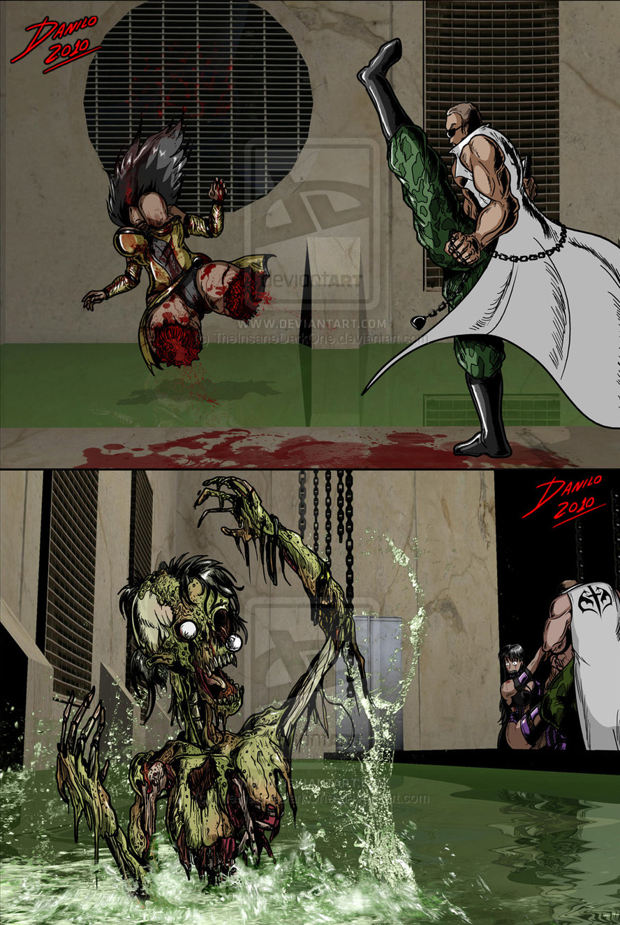 kombat mileena mortal Daily life with a monster girl fanfiction