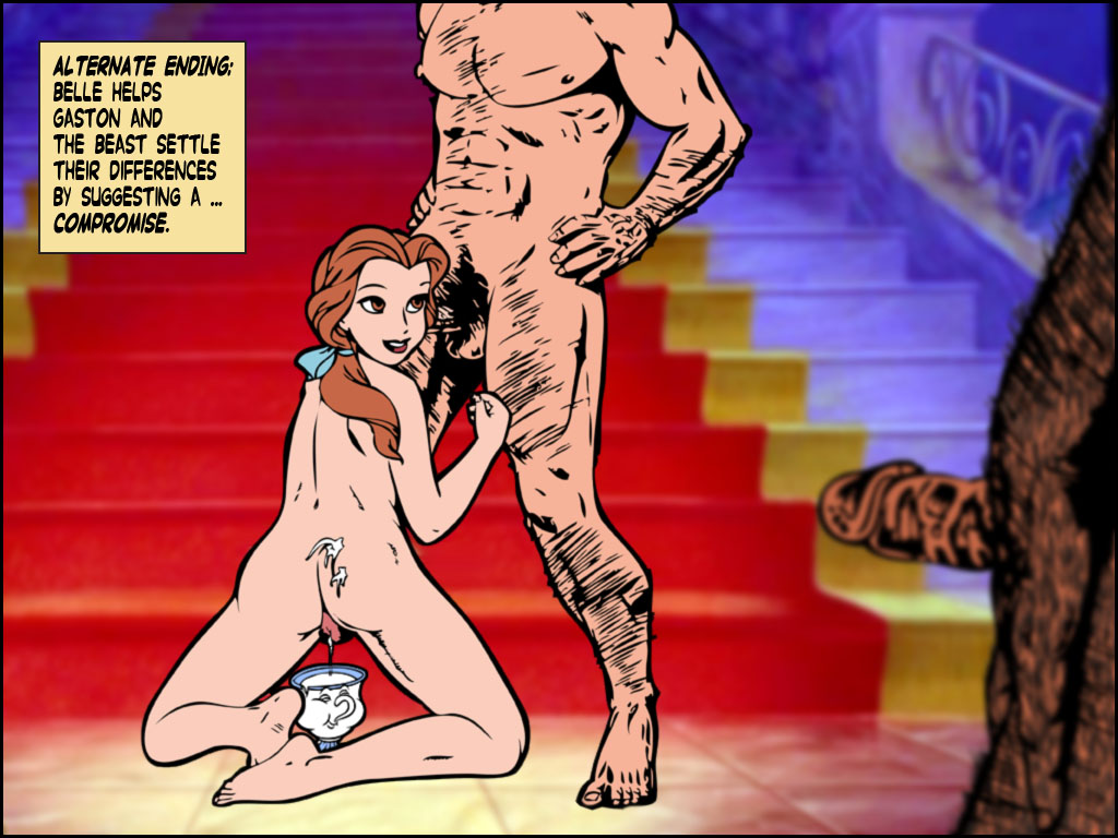 the and belle beauty beast nude Mr gus from uncle grandpa