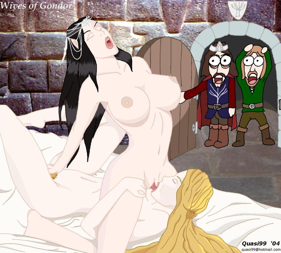 queen elf rings of the lord Samurai jack high priestess unmasked