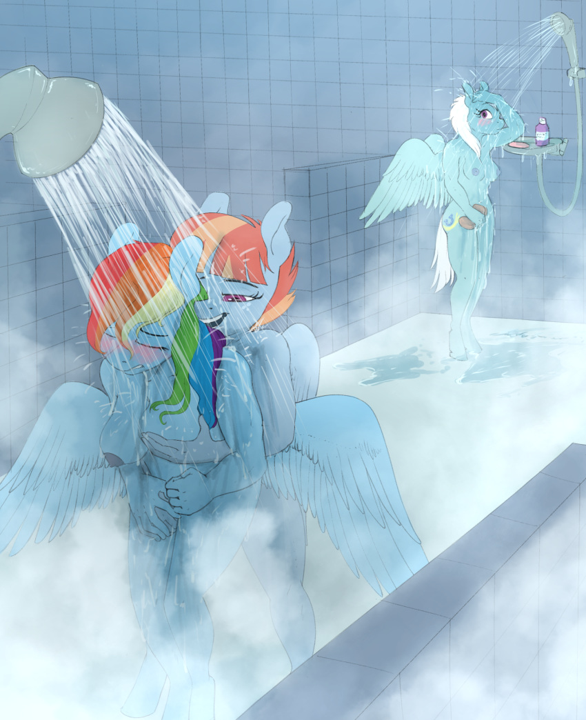 sunset rainbow and shimmer dash Wallace and gromit