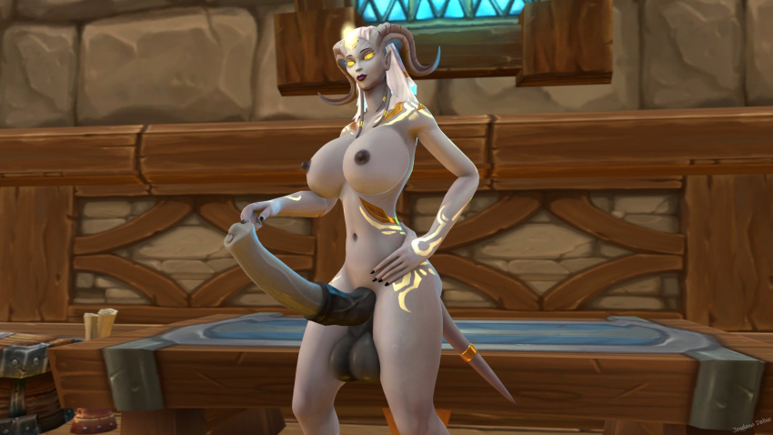 world lightforged of draenei warcraft Huniepop all pictures in game